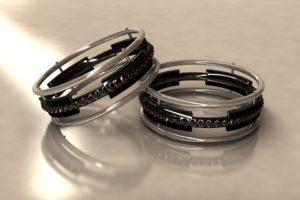 pierścionki ze stali nierdzewnej